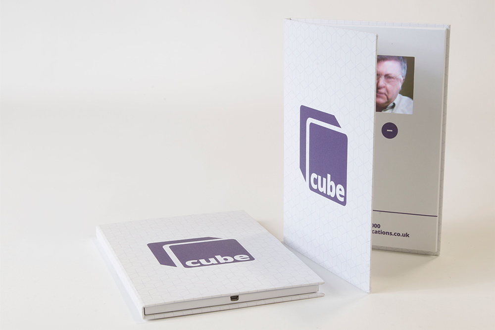Cube Hard Cover Portrait